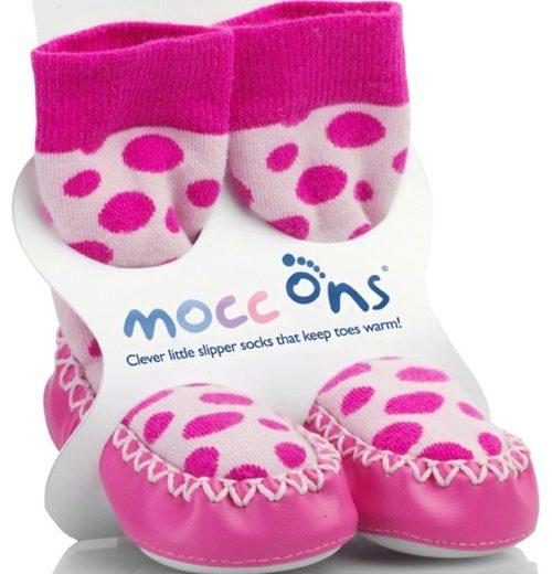 Καλτσοπάπουτσα Moccons Dots