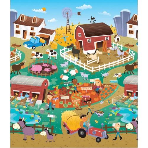 Χαλάκι παιχνιδιού City/Farm