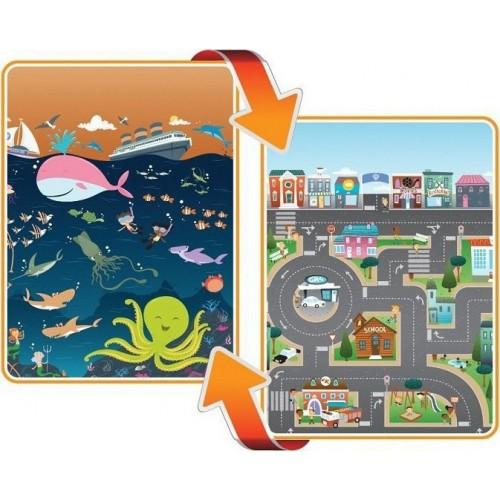 Χαλάκι παιχνιδιού City/Ocean