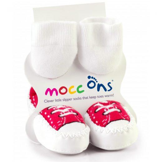 Καλτσοπάπουτσα Moccons Red