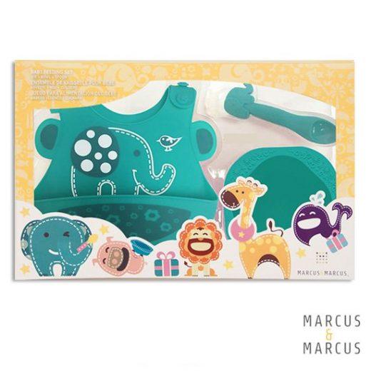 Βρεφικό σετ φαγητού Ελεφαντάκι Marcus & Marcus