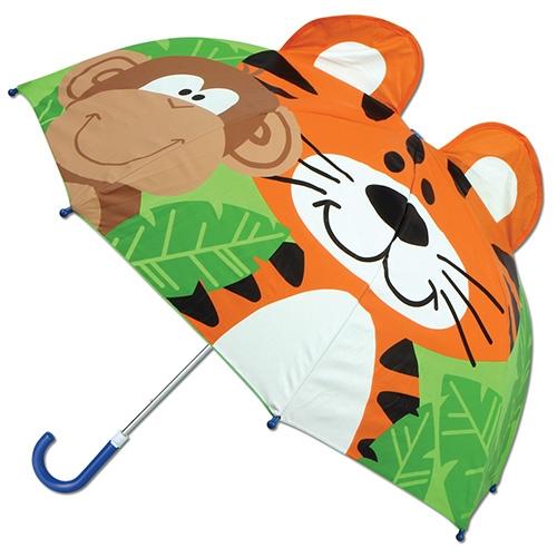 Ομπρέλα Pop Up Stephen Joseph Τίγρης