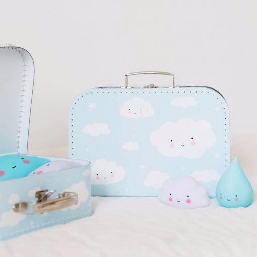 Βαλίτσα Cloud Blue