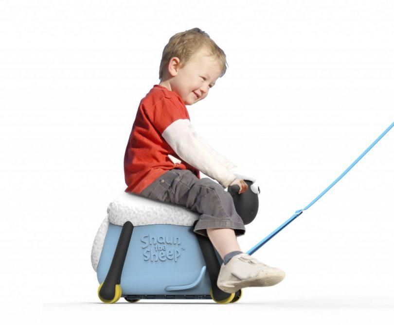 Παιχνιδόκουτο Βαλίτσα Περπατούρα Σών το πρόβατο Γαλάζιο