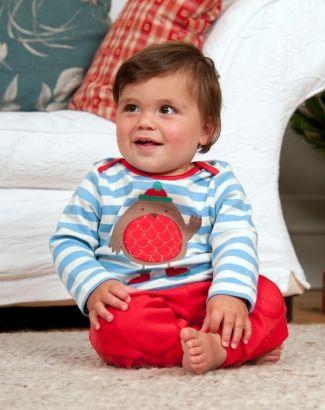 Μπλουζάκι Christmas Robin-baby-girl-tops-baby-girls