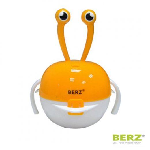 Βρεφικό Σετ Μπολ Φαγητού 5 σε 1 Berz  Πορτοκαλί Καβουράκι