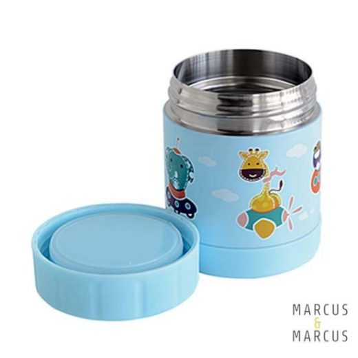 Iσοθερμικό δοχείο φαγητού  Γαλάζιο Μarcus & Marcus