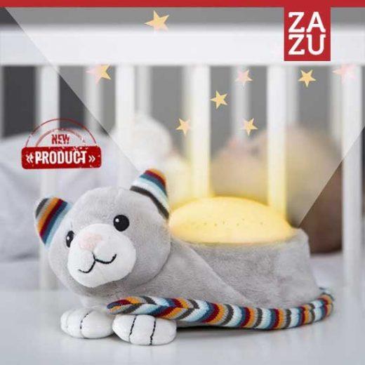 Kiki γατούλα Προτζέκτορας νανουρίσματος & λευκούς ήχους ZAZU