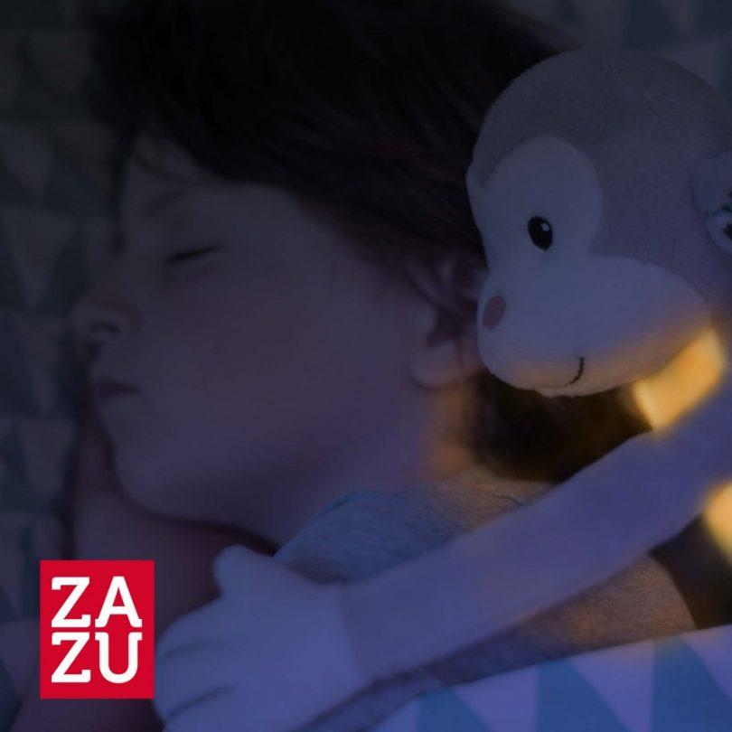Max Μαϊμουδάκι με φωτάκι νυκτός νανουρίσματος λευκών ήχων ΖAZU_1051